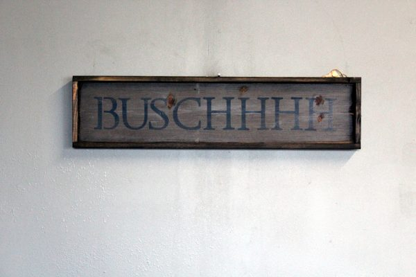 Busch Sign