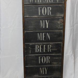 Whiskey for My Men